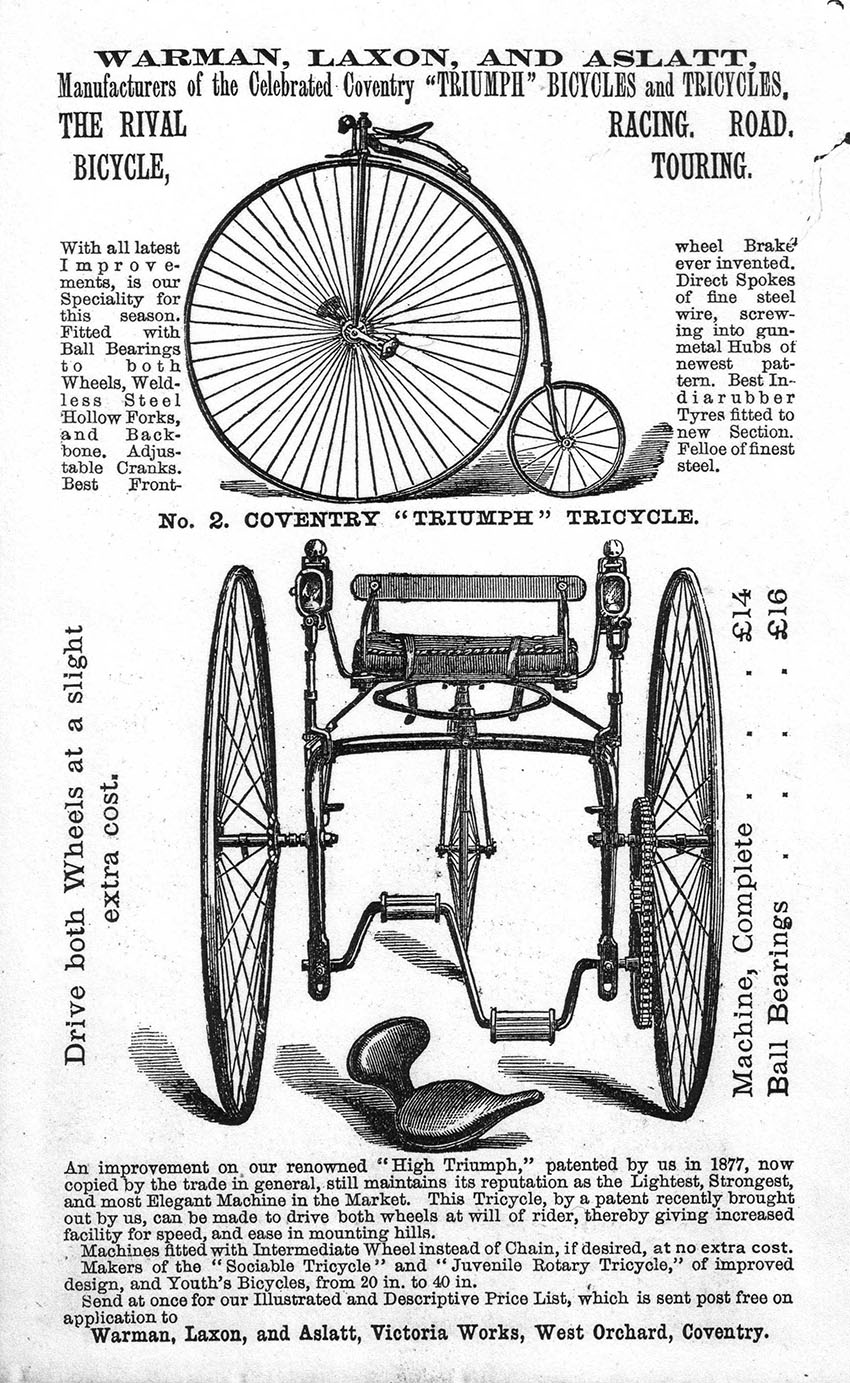 1881 Warman Laxon Triumph 36