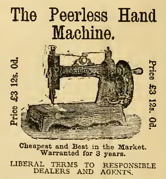 1882 White Peerless advert 2