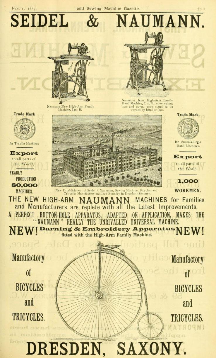 1887 seidel naumann ad sewing penny