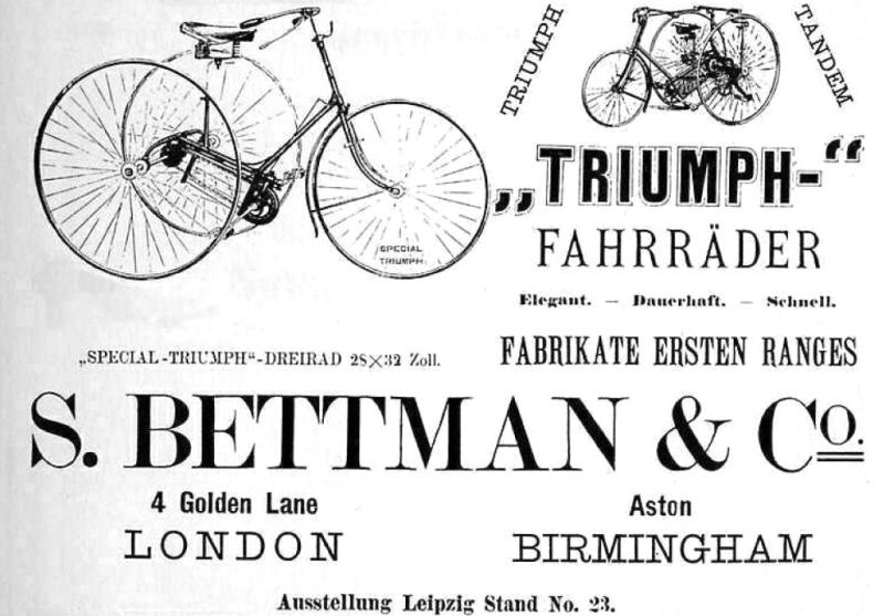 1887 Triumph