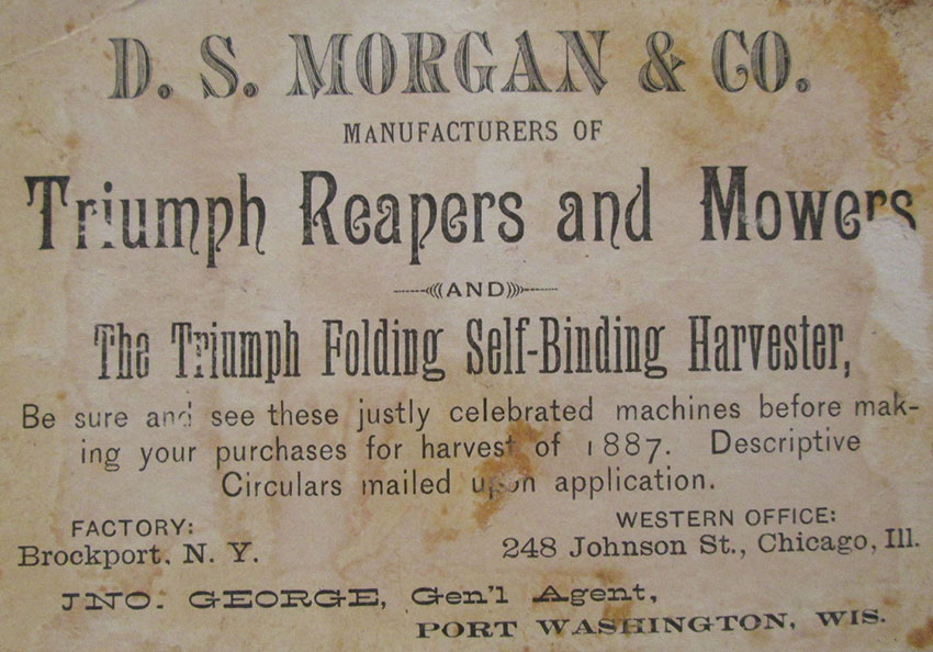 1892 ds morgan triumph haarvesting equipment 3