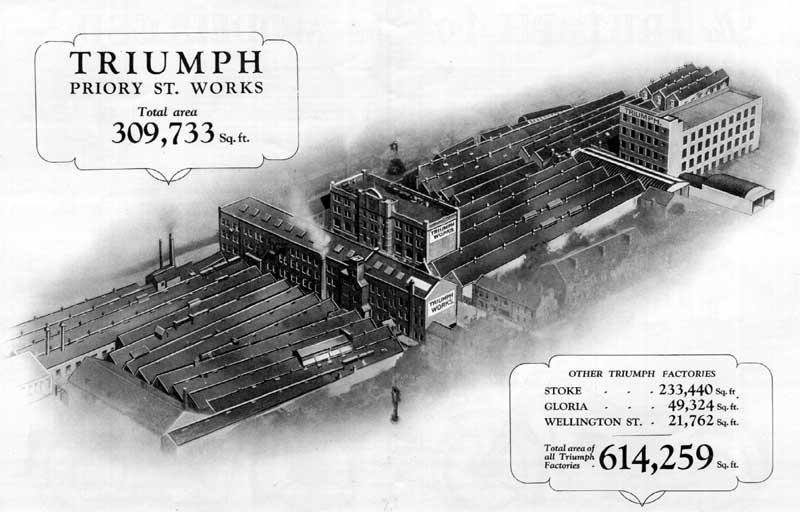 1930 TRIUMPH factory