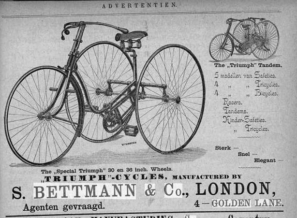 Bettmann & Co dutch advert