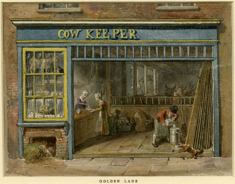 COW SHOP GOLDEN LANE LONDON