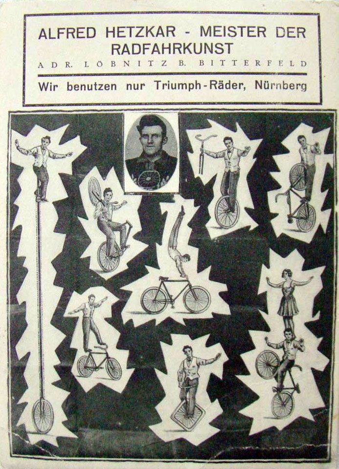 GERMAN TRIUMPH TRICK RIDER