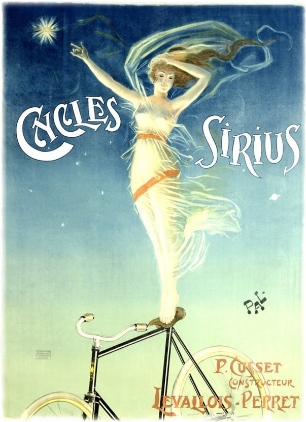 sirius cycles poster