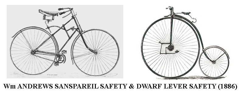 wm andrews safety bicycles