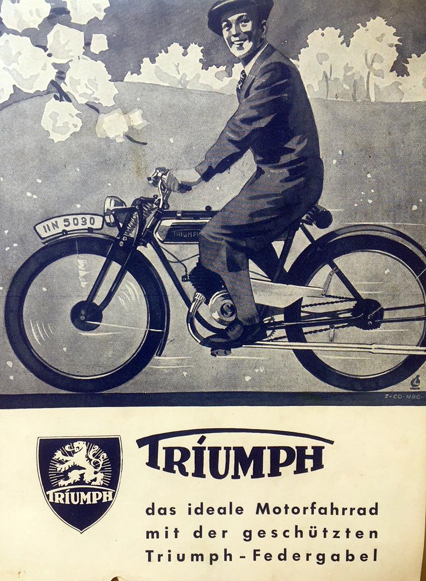 1936 Triumph TS100 1